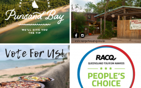 RACQ Peoples Choice Award Cape York Camping Punsand Bay
